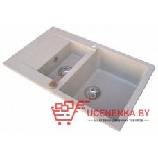 Кухонная мойка врезная Aquasanita Cuba SQC 151 111 AW